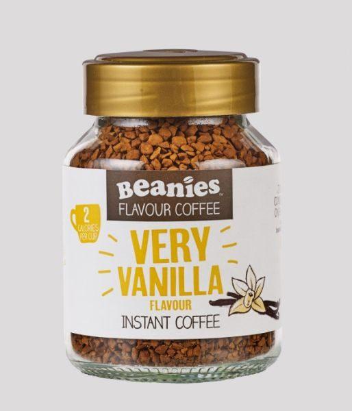 Beanies instant kávé vanília ízű 50g - NaturTéka webáruház