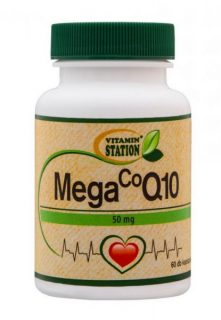 Vitamin station mega co q10 kapszula 60db