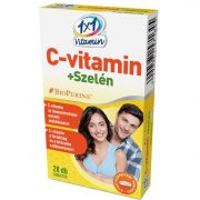 1x1 Vitaday C-vitamin + szelén bioperinnel 28db