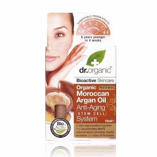 Dr. Organic Öregedésgátló arcápoló olaj marokkói bio..