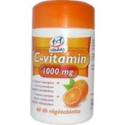 1x1 vitaday c-vitamin 1000 mg rágótabletta 60db