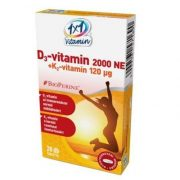 1x1 Vitaday d3-vitamin + k2 bioperinnel 28db