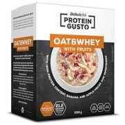 Biotech gluténmentes oat and whey banán-alma 696g