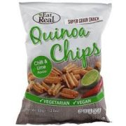 Eat real quinoa chips chili-lime ízű 30g