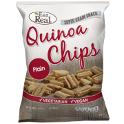 Eat real quinoa chips natúr 30g