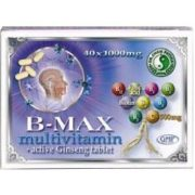 Dr. Chen b-max multivitamin tabletta 40db